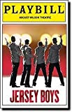 John Lloyd Young return to his Tony Award winning role as Frankie Valli in this Color Playbill from the Broadway Production of Jersey Boys starring John Lloyd Young Andy Karl Matt Bogart Quinn VanAntwerp
