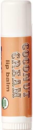 TREAT Jumbo Lip Balm - Coconut Cream, Organic & Cruelty Free (.50 OZ)