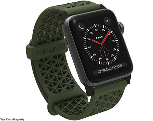 Catalyst Hypoallergenic Silicone Sports Band 24mm For Apple Watch