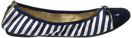Butterfly Twists Damen Cara Ballerinas Blue (navy-040)