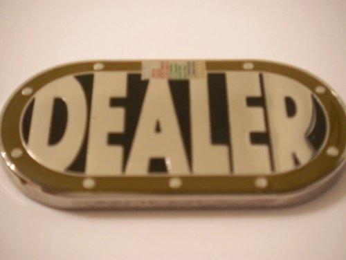 Uniquely Shaped Heavy Dealer Button