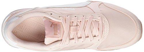 Puma Unisex-volwassenen St Runner V2 Nl Cross-trainer Pink (pearl-puma White-perzik Beige)