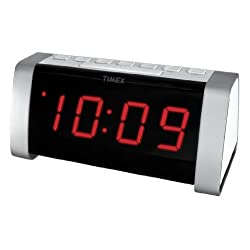 Timex T235WY AM/FM Dual Alarm Clock Radio - White