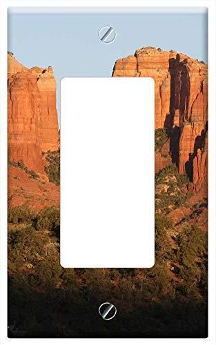 Switch Plate Single Rocker/GFCI - Sedona Arizona Landscape Southwest Rock Desert