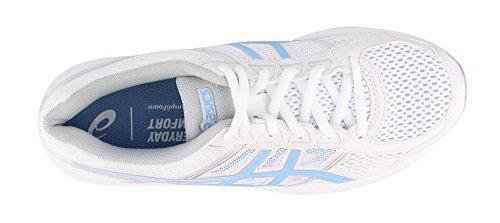 ASICS Gel-Contend 4 Women's Running Shoe, White/Bluebell, 5 M US by ASICS (Image #1)