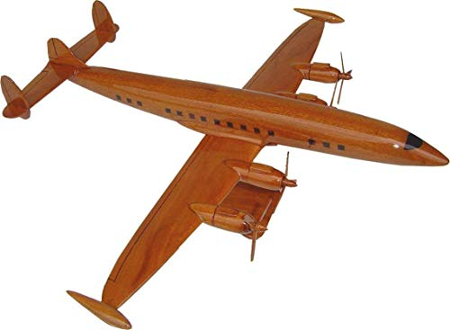The Super Constellation Airplane Wooden Model
