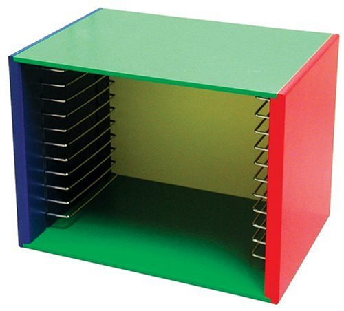 Melissa & Doug Puzzle Storage Case - Painted Wood (Holds 12 Puzzles)
