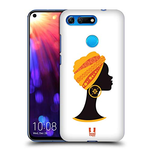 Head Case Designs Bust Silhouette African Pattern Series 1 Hard Back Case for Huawei Honor View 20 / V20