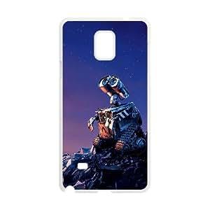 Samsung Galaxy Note 4 Cell Phone Case White wall e VIU153091