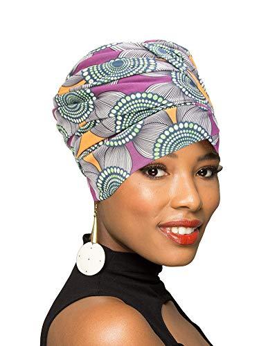 Turban Head Wrap Scarf,African Long Scarf Turban Shawl Hair Bohemian -