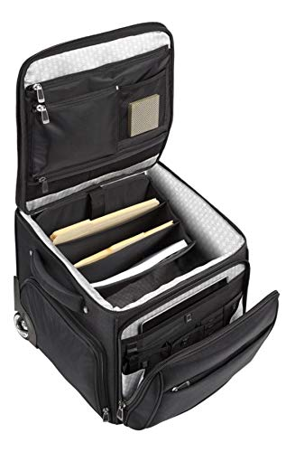 (Ativa Ultimate Workmate Rolling Briefcase with 15