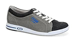 Storm Gust Bowling Shoes, Grey/Black/Blue, 7.0