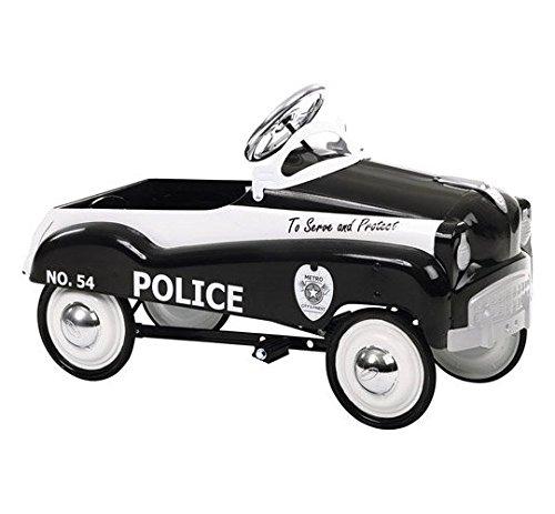 Car Police Retro Pedal - InSTEP Retro Police Pedal Car Ride On - PC200