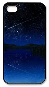 iphone 4 case Cheap price cover Skyviews Girl stars PC Black for Apple iPhone 4/4S