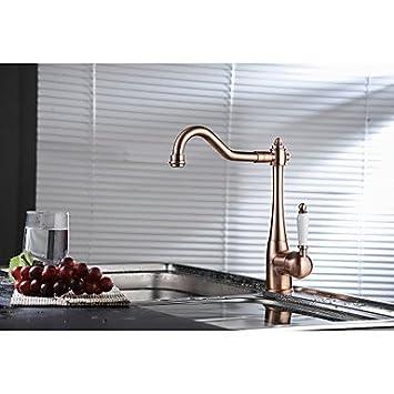 Ace faucet- rame tradizionale periodo singolo ceramica leva per ...