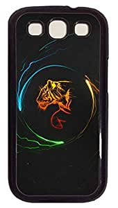 Samsung Galaxy S3 I9300 Cases & Covers - Tiger Graphic Design Custom PC Soft Case Cover Protector for Samsung Galaxy S3 I9300 - Black
