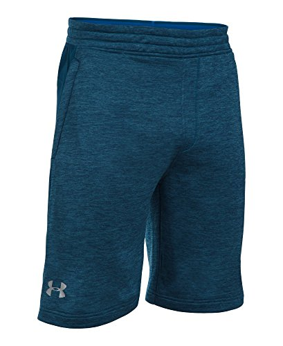 Under Armour Men's Tech Terry Shorts, Blackout Navy (997)/Silver, Small by Under Armour (Image #3)