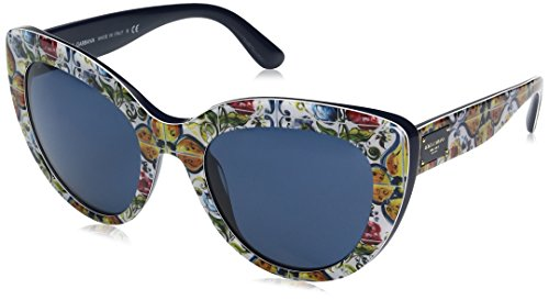 Dolce-Gabbana-Womens-Acetate-Woman-Cateye-Sunglasses-Print-Majolica-on-Blue-53-mm