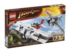 [해외] LEGO (레고) INDIANA JONES (인디안나 존스) 7198 FIGHTER PLANE ATTACK 블럭 장난감 (병행수입)