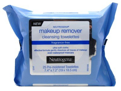 Amazon.com : Neutrogena Makeup Remover Cleansing Towelettes, 25 ...