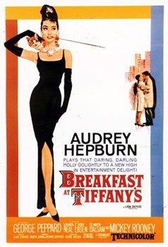 Breakfast at Tiffanys Audrey Hepburn US Promo Huge Vintage P