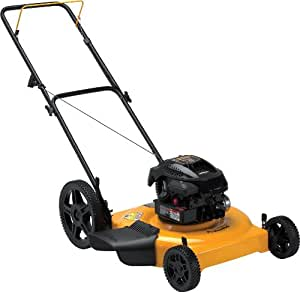 Poulan Pro PR550N22SH 22-Inch Briggs & Stratton 550 Series Gas-Powered Side Discharge/Mulch Lawn Mower with High Rear Wheels
