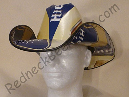 Beer Box Cowboy Hat Made From Recycled Miller High Life Light Beer Boxes -  Buy Online in UAE.  b82e1bb56c51