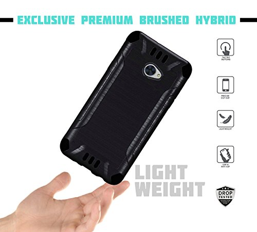 MYFAVCELL for Huawei Ascend XT2 Case with Full Glass Screen