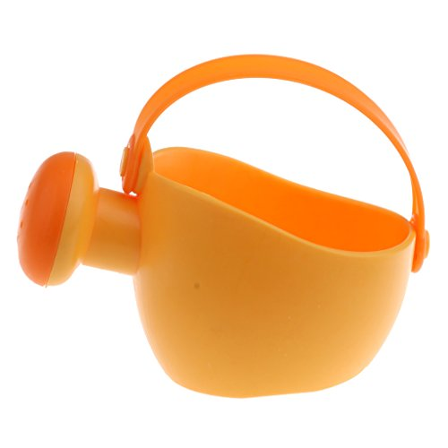 Jili Online Plastic Beach Sand Toy Watering Can Pot Bucket Kid Garden Tool Bath Water Toy Pretend Play Game Outdoor Toys Random Color