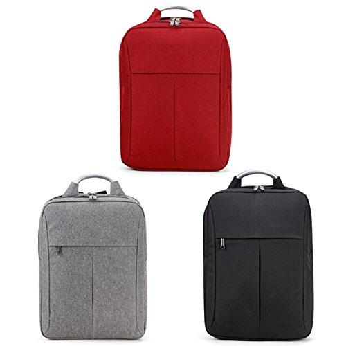 joybuy Slim Laptop Rucksack 15,6in Wasserdicht Schule Tasche Business Rucksack für Arbeit Reisen College rot
