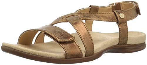 - Spenco Women's Cross Strap Sandal, tan, 9 Medium US