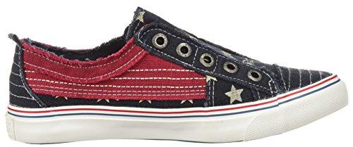 Fashion Blowfish Play Womens Navy Star Blowfish Sneaker Womens wqaqIT