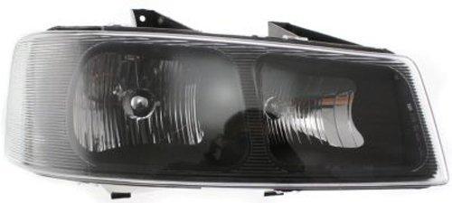 Crash Parts Plus Right Passenger Side Headlight Head Lamp for 2003-2015 Chevy Express, GMC Savana