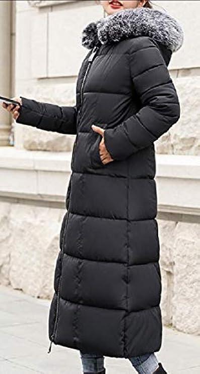 Cappotto Pelliccia Da Piumino Sintetica Donna Con In Cappuccio Loveinus Parka ggvqSW8T