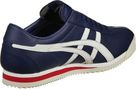 Onitsuka Tiger - Tiger Corsair White/True Red - Sneakers Hombre Azul