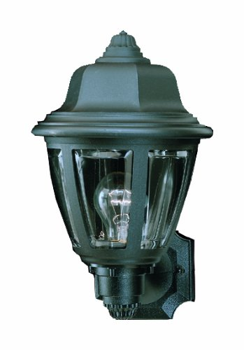 Thomas Lighting SL94407 Outdoor Wall Sconce, Black