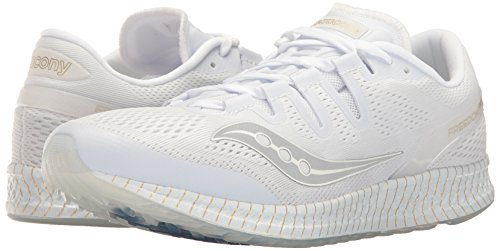 S20355 Saucony Freedom Zapatilla Iso 11 White Gold AqwOg