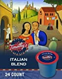 Timothy's World Coffee Italian Blend K-Cup Coffee Review
