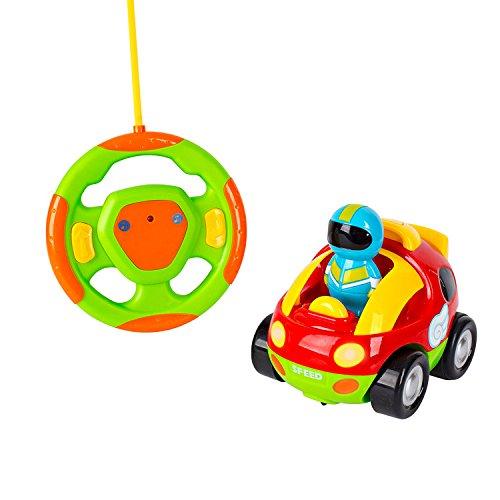 Big Mo's Toys Cartoon RC Race Car