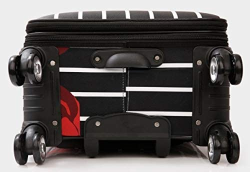 Lcslj Luggage Female Universal Wheel 24 inch 20 inch Student Password Box Travel Luggage Trolley case Color : Black, Size : S