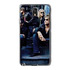Samsung Galaxy Note3 YqF1870oeMk Provide Private Custom Beautiful Bon Jovi Image High Quality Hard Phone Cover -hardcase88