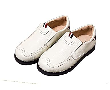 Ausom 2017 Spring Lastest Fashion Childrens Leather Casual Shoes for Boys Kids