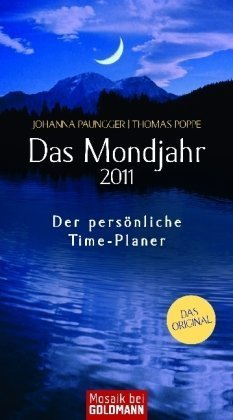 Das Mondjahr 2011: Der persönliche Time-Planer - Einlegeblätter