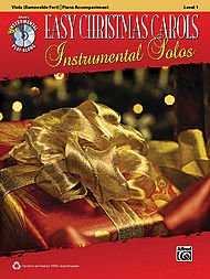 Alfred Easy Christmas Carols Instrumental Solos for Strings-Viola (Book and CD)