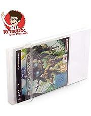 20 Stück Klarsichtschutzhüllen für Playstation 3 - PS3 Box Protector - Box - Originalverpackung - Passgenau - PS4 - Blu Ray Steelbook - Glasklar - Protector - Box - Klarsicht - Schuber