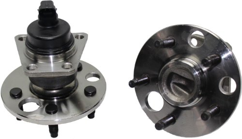Brand New (Both) Rear Wheel Hub and Bearing Assembly for Cavalier, Grand Am, Skylark, Sunfire 5 Lug W/ABS (Pair) 512001 x2 ()