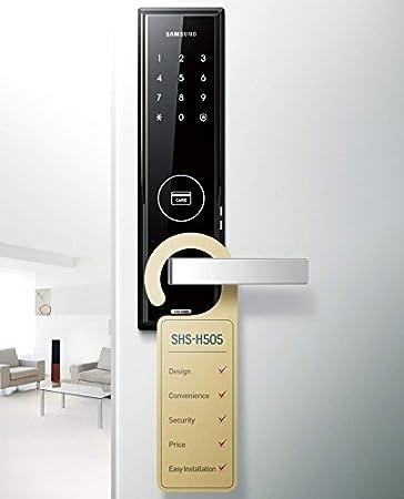 New SAMSUNG SHS-H505 Digital Door Lock - US/English Model (SHS ...