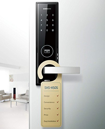 New Samsung Shs H505 Digital Door Lock Us English Model