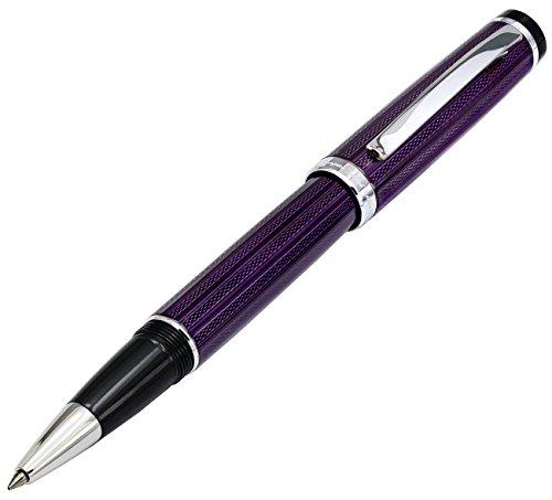 Xezo Diamond Cut Gel Ink Rollerball Pen (Incognito Purple R) by Xezo (Image #8)