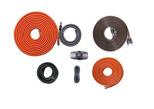 Tubing 14 Aluminum Gauge (Elite Audio EA-KIT8 8-Gauge Complete Premium Car Amplifier Installation Kit 2-Channel 1000W Power)